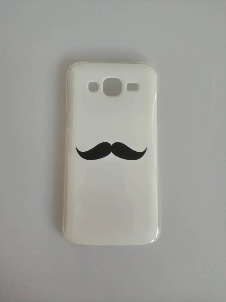 FORCELL ART TPU obal Samsung Galaxy J5 2015 (J500) MOUSTACHE