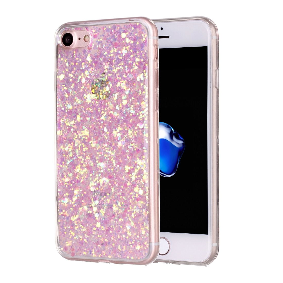 FORCELL LIQUID TPU obal Apple iPhone 7 / iPhone 8 ružový