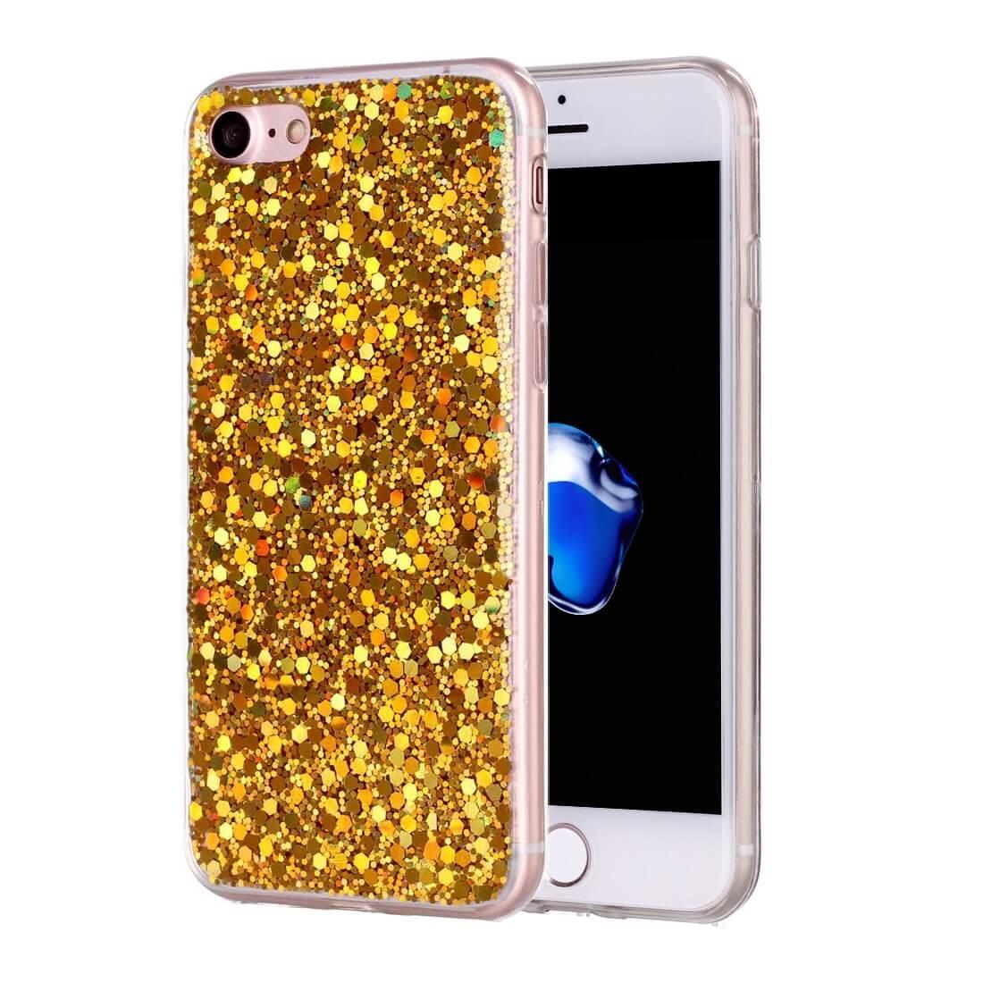 FORCELL LIQUID TPU obal Apple iPhone 7 / iPhone 8 zlatý