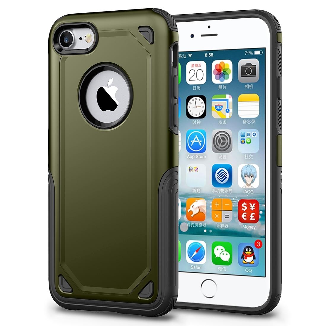 FORCELL SHOCKPROOF Ochranný kryt Apple iPhone 7   iPhone 8 army 39b003bcb4b