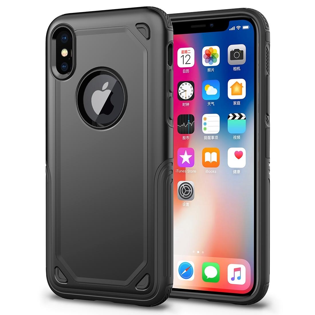 FORCELL SHOCKPROOF Ochranný kryt Apple iPhone XS Max černý a514774b2f1