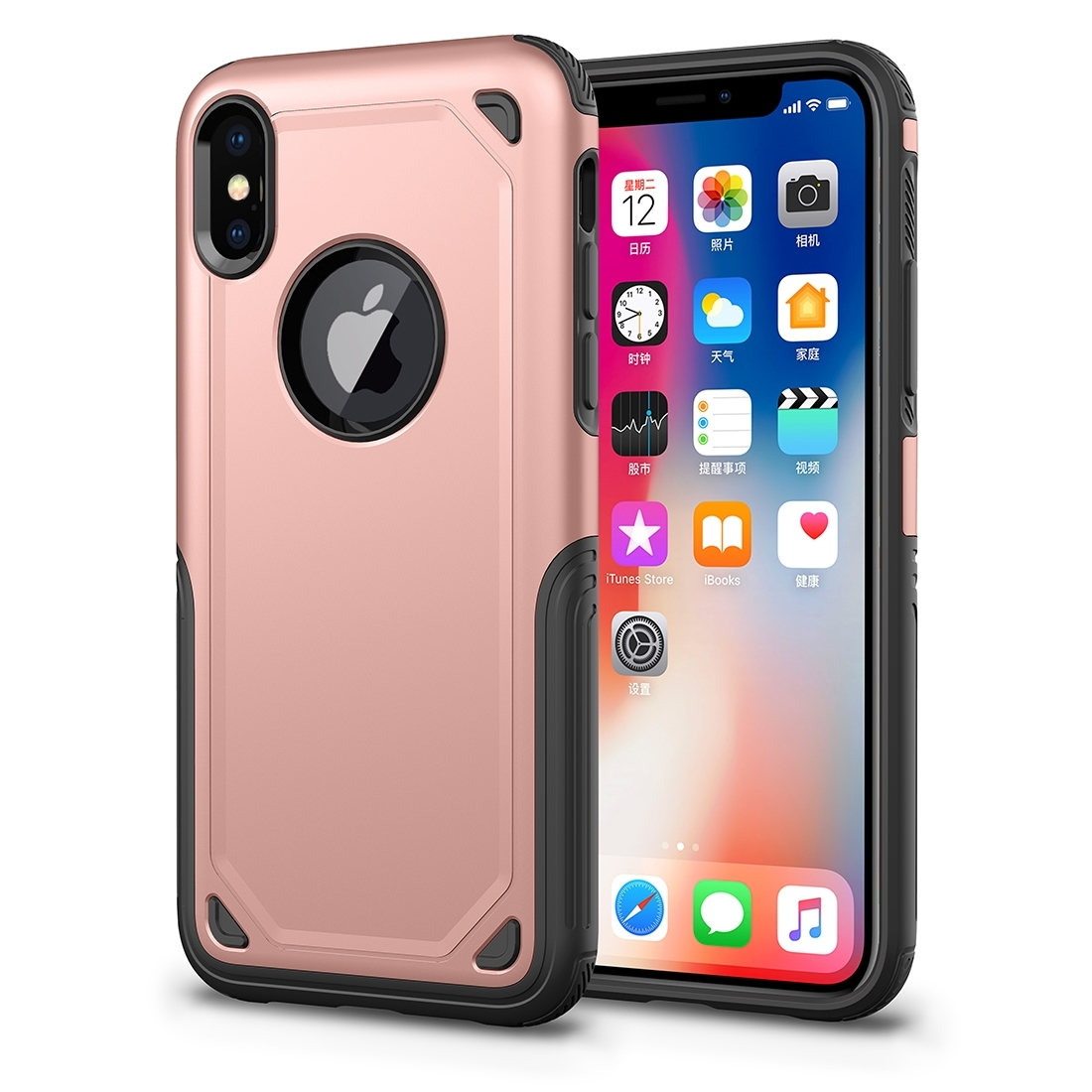 FORCELL SHOCKPROOF Ochranný kryt Apple iPhone XS Max růžový b533372b281