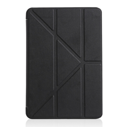 FORCELL LEATHER Zaklápací obal iPad Mini 4 / Mini 5 (2019) čierny