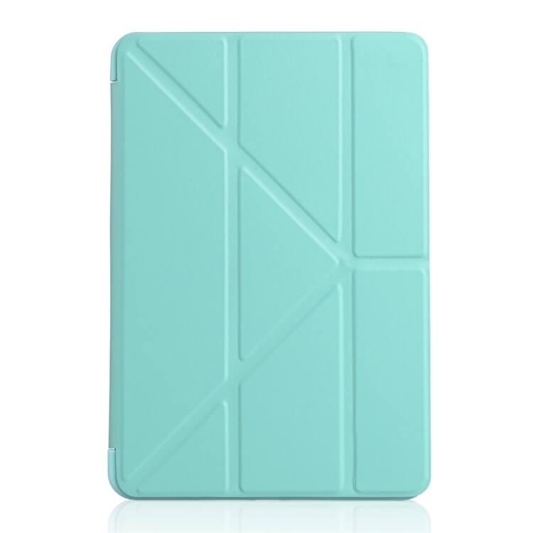 FORCELL LEATHER zaklapovací obal iPad Mini 4 / Mini 5 (2019) zelený