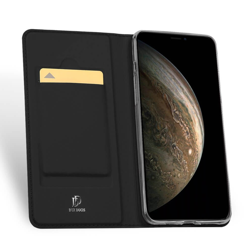 Levně DUX Peňaženkový obal Apple iPhone 11 Pro černý