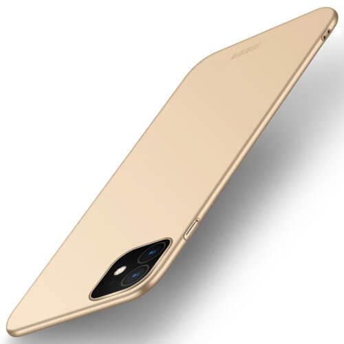 MOFI Ultratenký obal Apple iPhone 11 zlatý