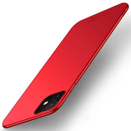 MOFI Ultratenký obal Apple iPhone 11 červený