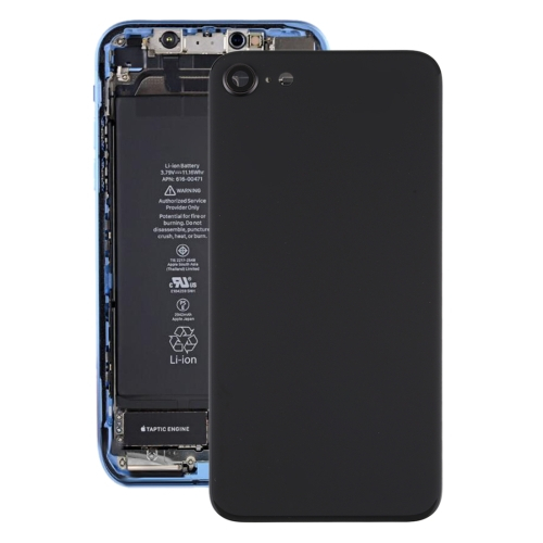 FORCELL Zadní kryt (kryt baterie) Apple iPhone SE 2020 černý