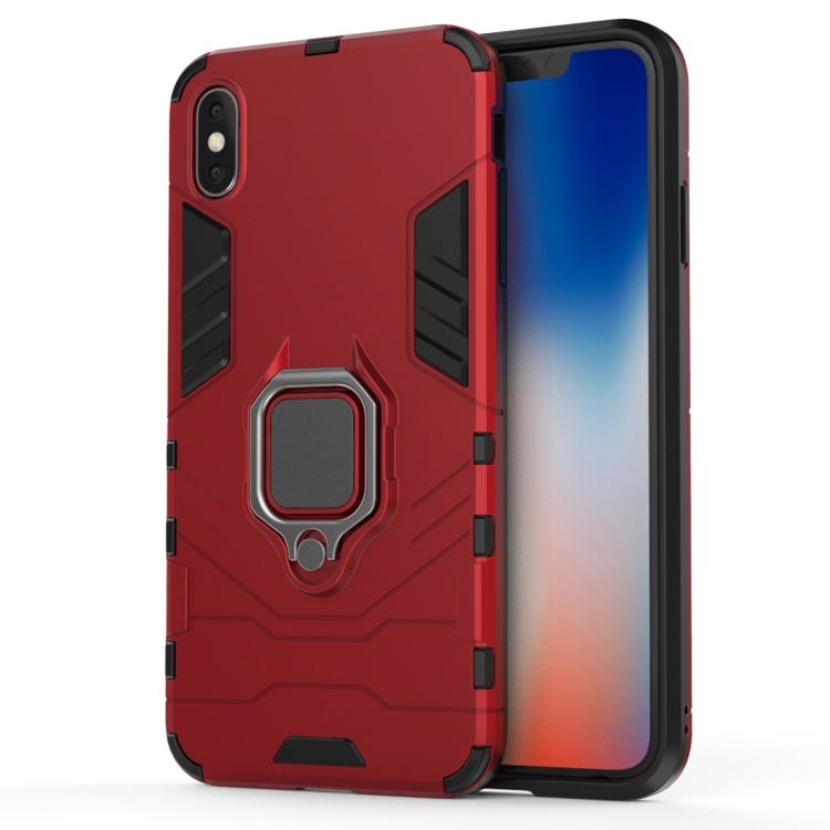 FORCELL STRONG Ochranný obal Motorola Moto G8 Plus červený