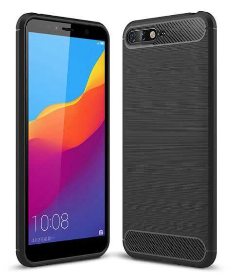 FORCELL FLEXI TPU Kryt Huawei Y6 2018 černý