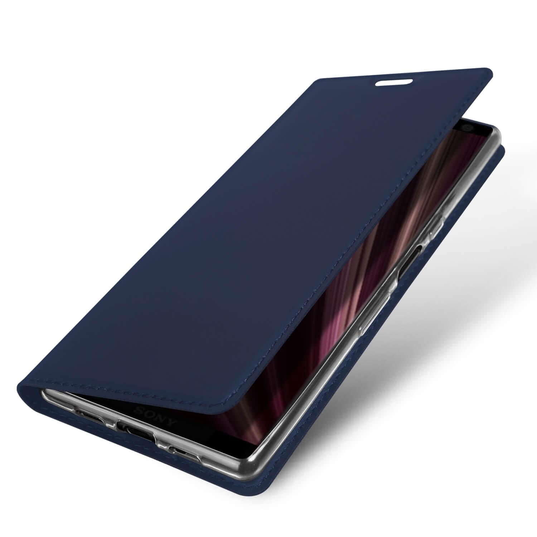 DUX Peňaženkový obal Sony Xperia 10 modrý