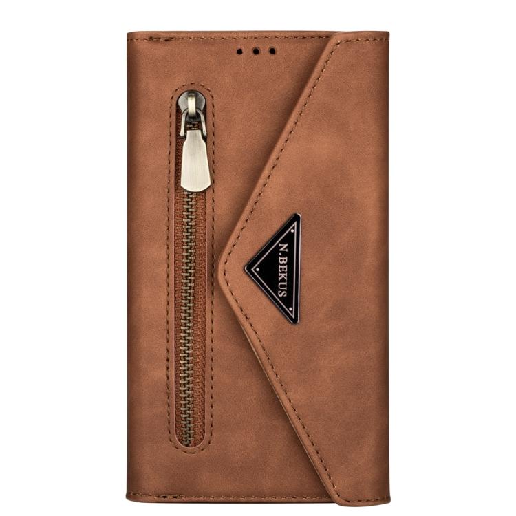 Levně FORCELL BAG Kryt a kabelka 2v1 Samsung Galaxy Note 20 hnědý