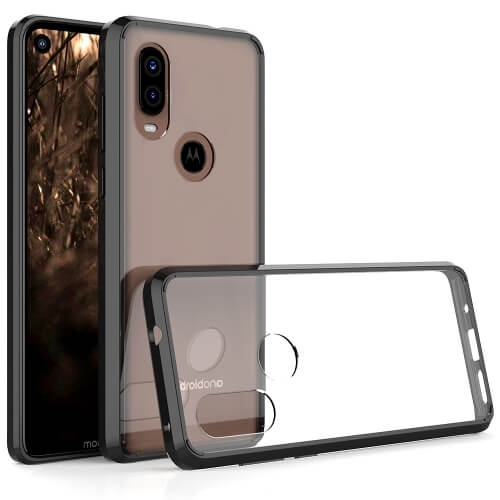 FORCELL SHOCK Odolný kryt Motorola One Vision černý