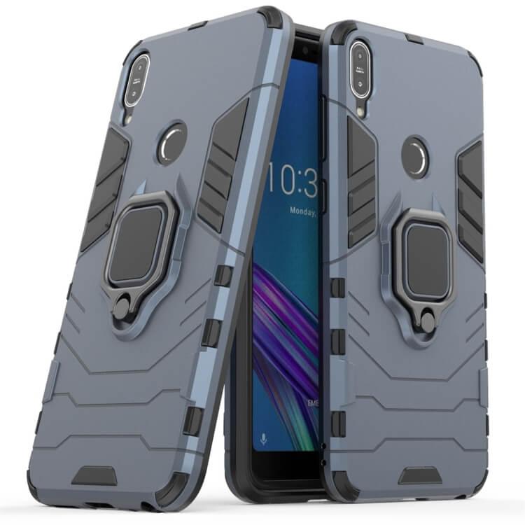 FORCELL STRONG Ochranný obal Asus ZenFone Max Pro (M1) ZB601KL / ZB602KL modrý