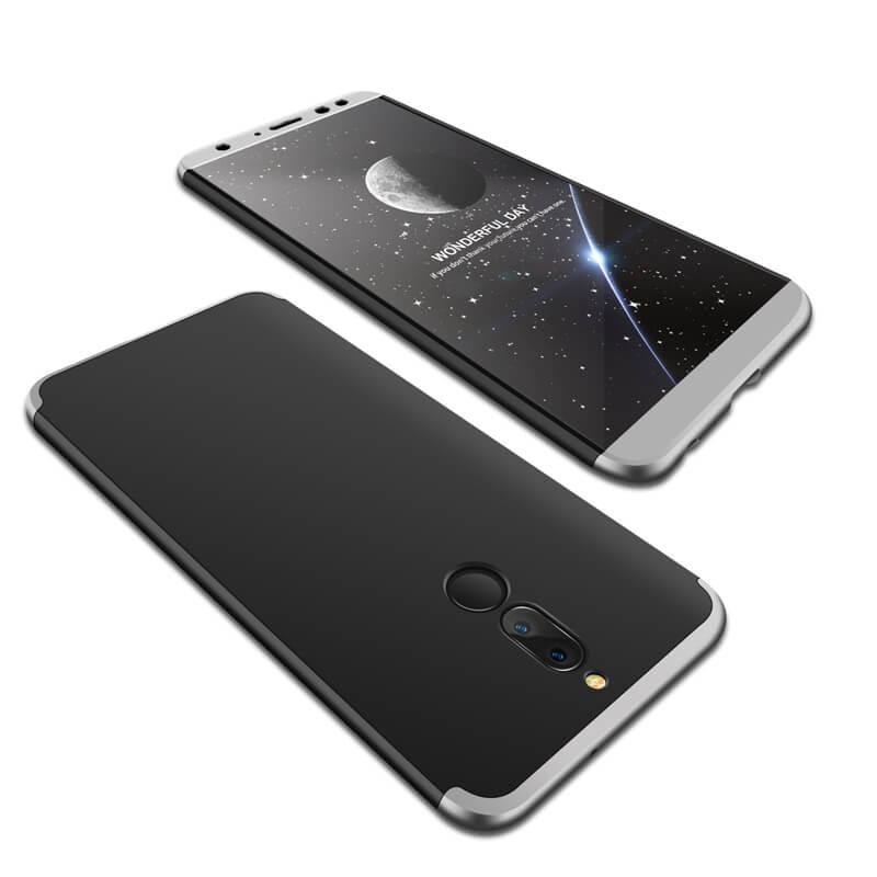 FORCELL 360 ° Ochranný obal Huawei Mate 10 Lite černý (stříbrný)