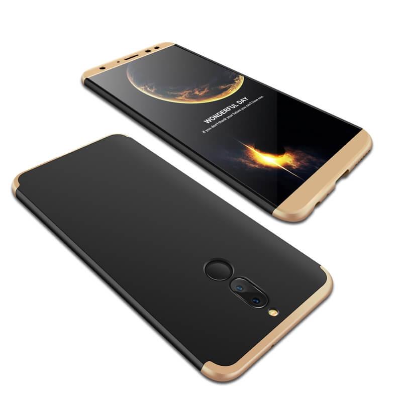 FORCELL 360 ° Ochranný obal Huawei Mate 10 Lite černý (zlatý)