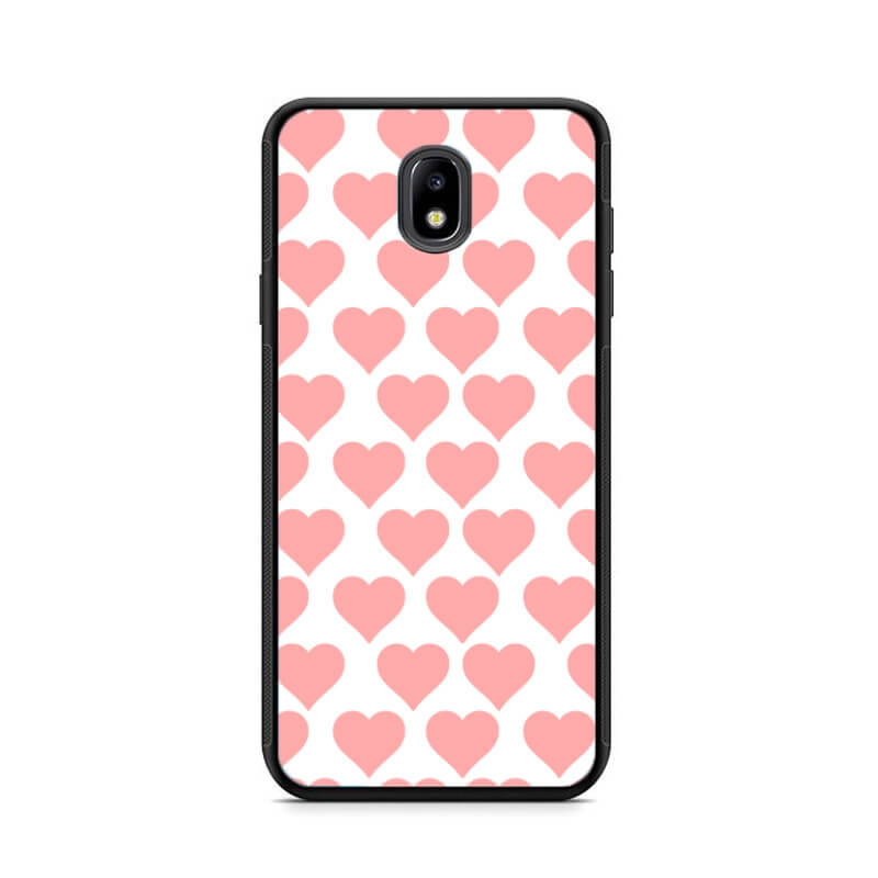 FORCELL MY ART kryt Samsung Galaxy J5 2017 (J530) PINK HEARTS (012)