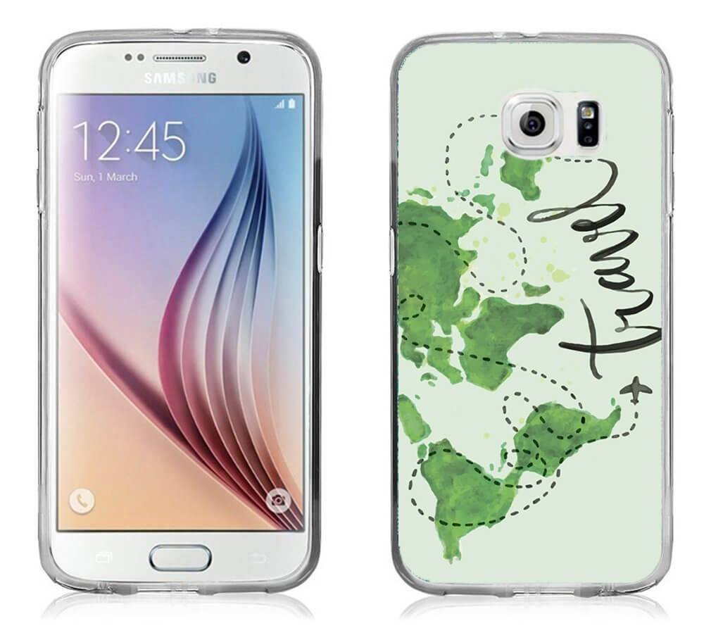 FORCELL MY ART kryt Samsung Galaxy S7 TRAVEL (032)