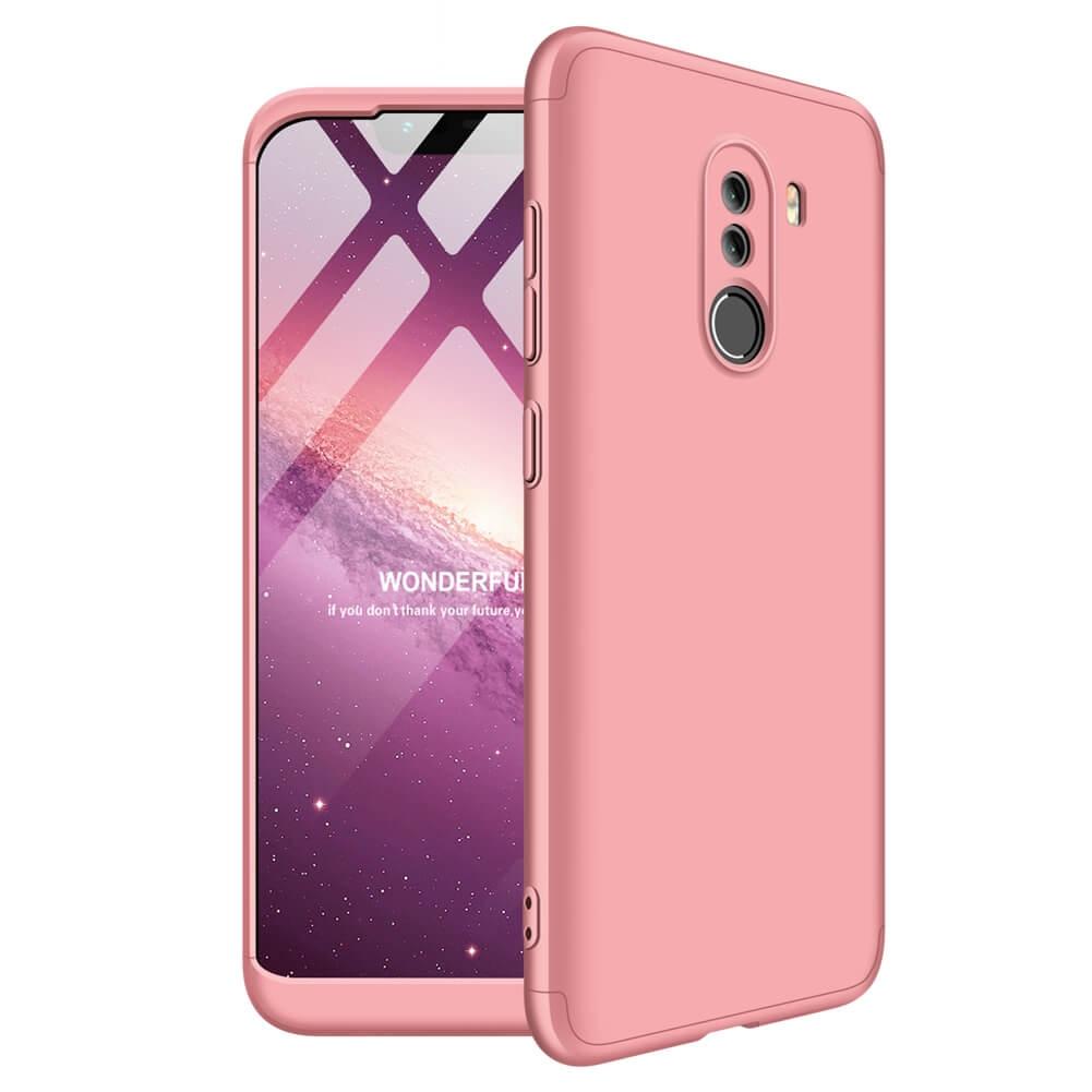FORCELL 360° Ochraný obal Xiaomi Pocophone F1 růžový