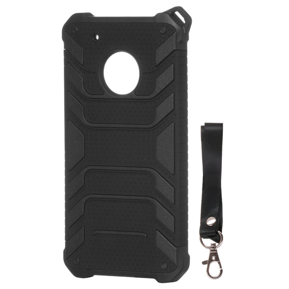 FORCELL SPIDER Ochranný obal Lenovo Moto G5 Plus čierny