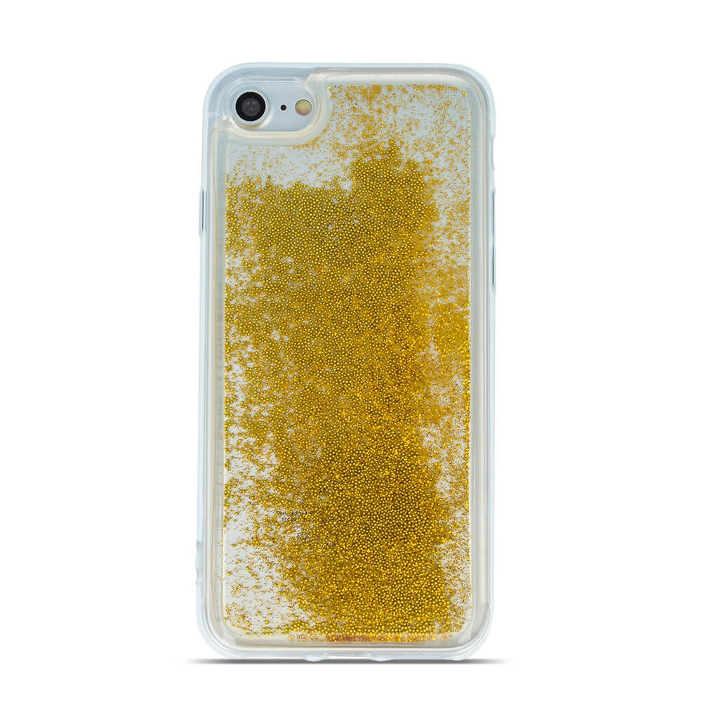 FORCELL LIQUID Obal Apple iPhone 7 / iPhone 8 zlatý