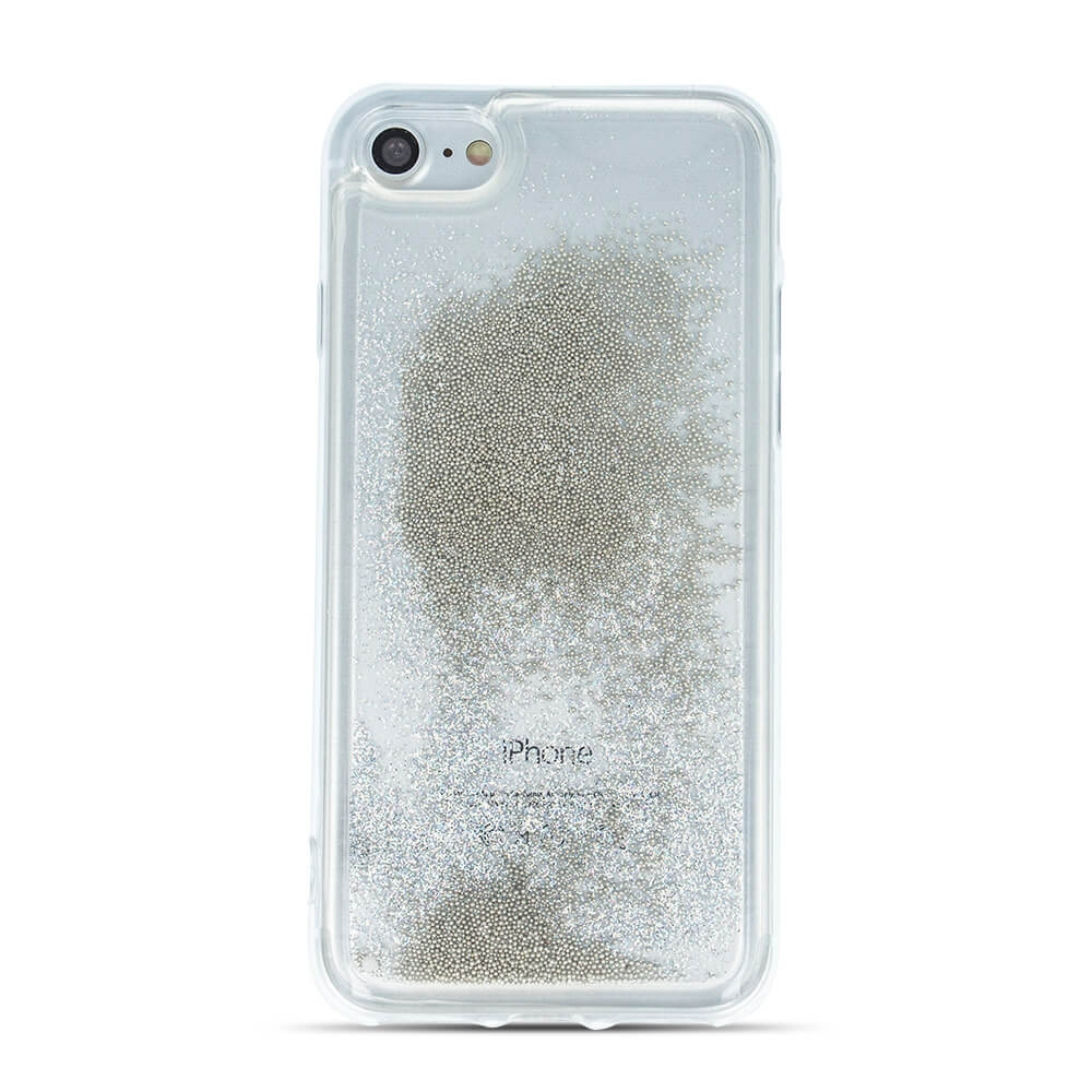 FORCELL LIQUID Obal Apple iPhone 7 / iPhone 8 stříbrný