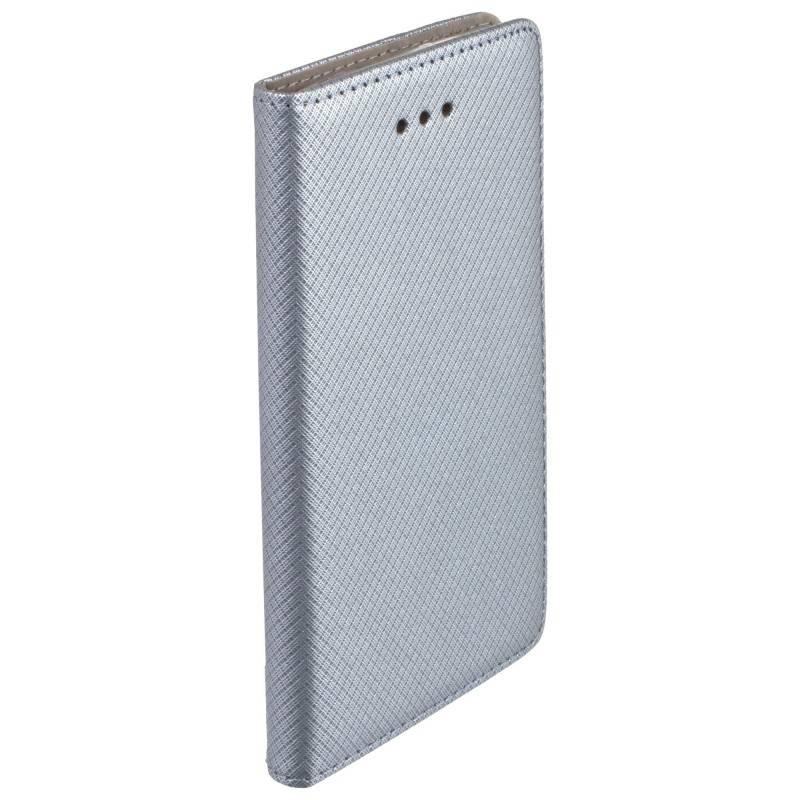 FORCELL MAGNET Peňaženkový obal LG K8 2017 šedý