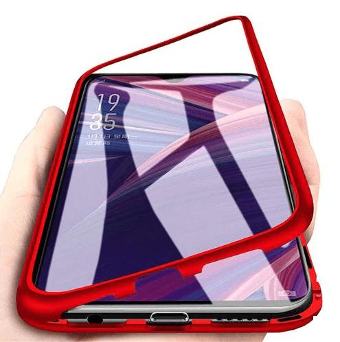 FORCELL Ochranný magnetický obal Samsung Galaxy A40 červený
