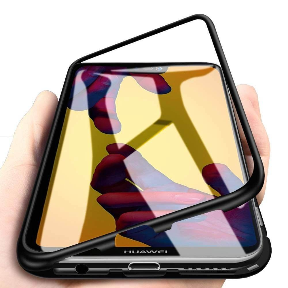 FORCELL Ochranný magnetický obal Huawei P20 Lite černý