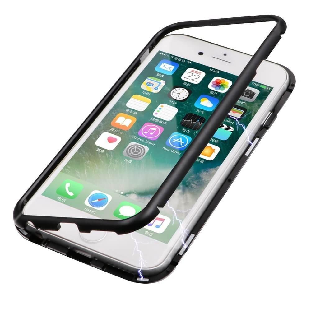 FORCELL Ochranný magnetický obal Apple iPhone 7 / iPhone 8 černý