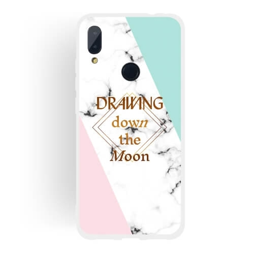 FORCELL MARBLE Ochranný obal Xiaomi Redmi Note 7 MOON