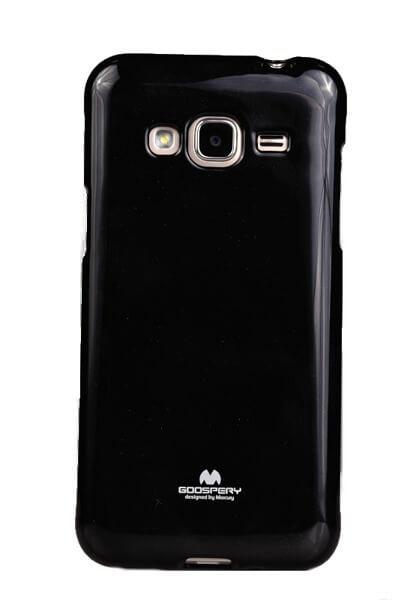 MERCURY JELLY TPU Samsung Galaxy J3 2016 čierny