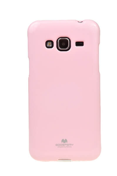 MERCURY JELLY TPU Samsung Galaxy J3 2016 ružový