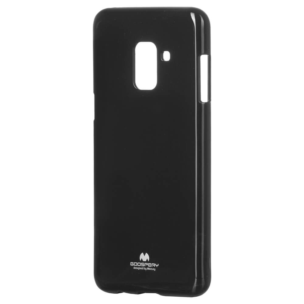 MERCURY JELLY TPU Samsung Galaxy A8 2018 (A530) čierny