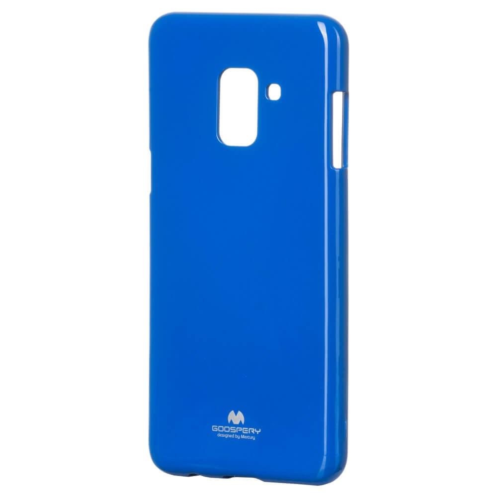 MERCURY JELLY TPU Samsung Galaxy A8 2018 (A530) modrý