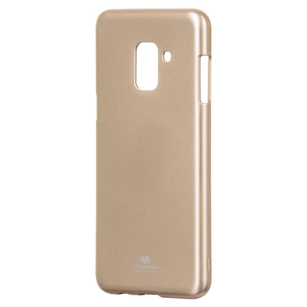 MERCURY JELLY TPU Samsung Galaxy A8 2018 (A530) zlatý