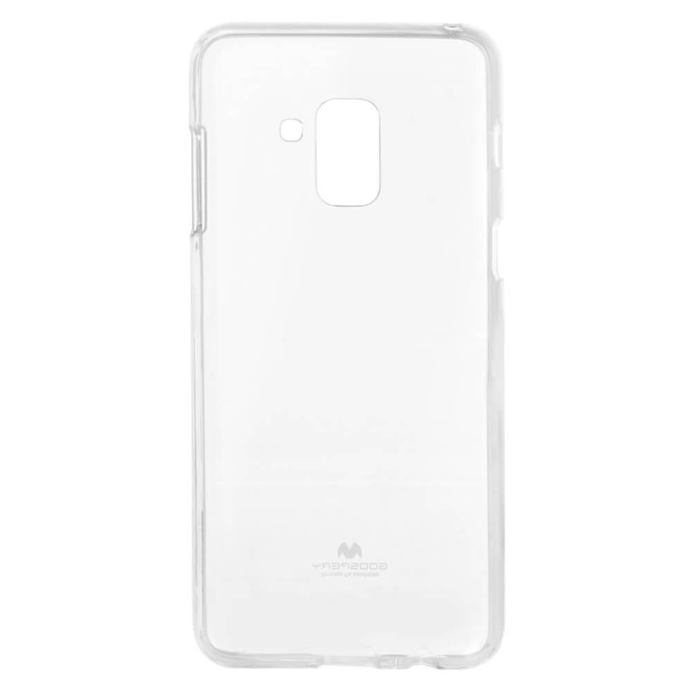 MERCURY JELLY TPU Samsung Galaxy A8 2018 (A530) priehľadný