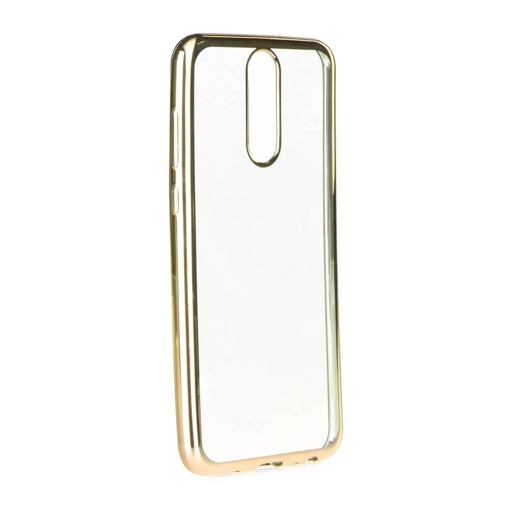 FORCELL METALLIC Silikonový obal Huawei Mate 10 Lite zlatý
