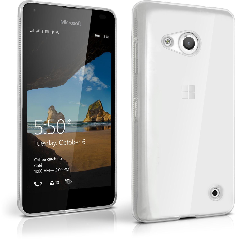 FORCELL Silikonový kryt Microsoft Lumia 550 průhledný