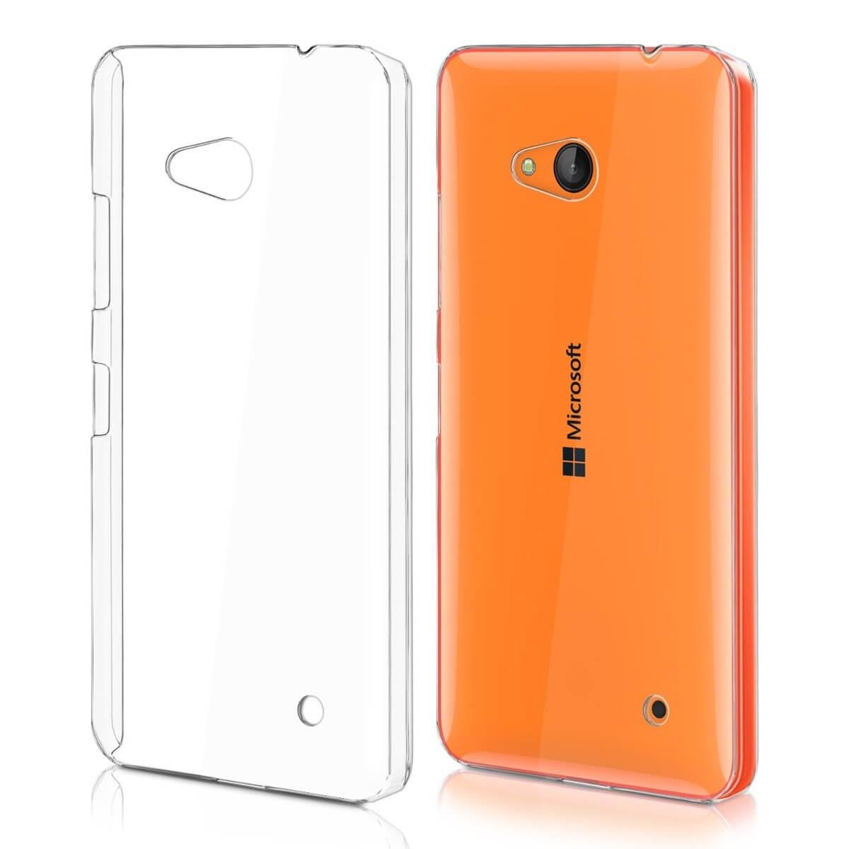 FORCELL Silikonový kryt Microsoft Lumia 640 průhledný