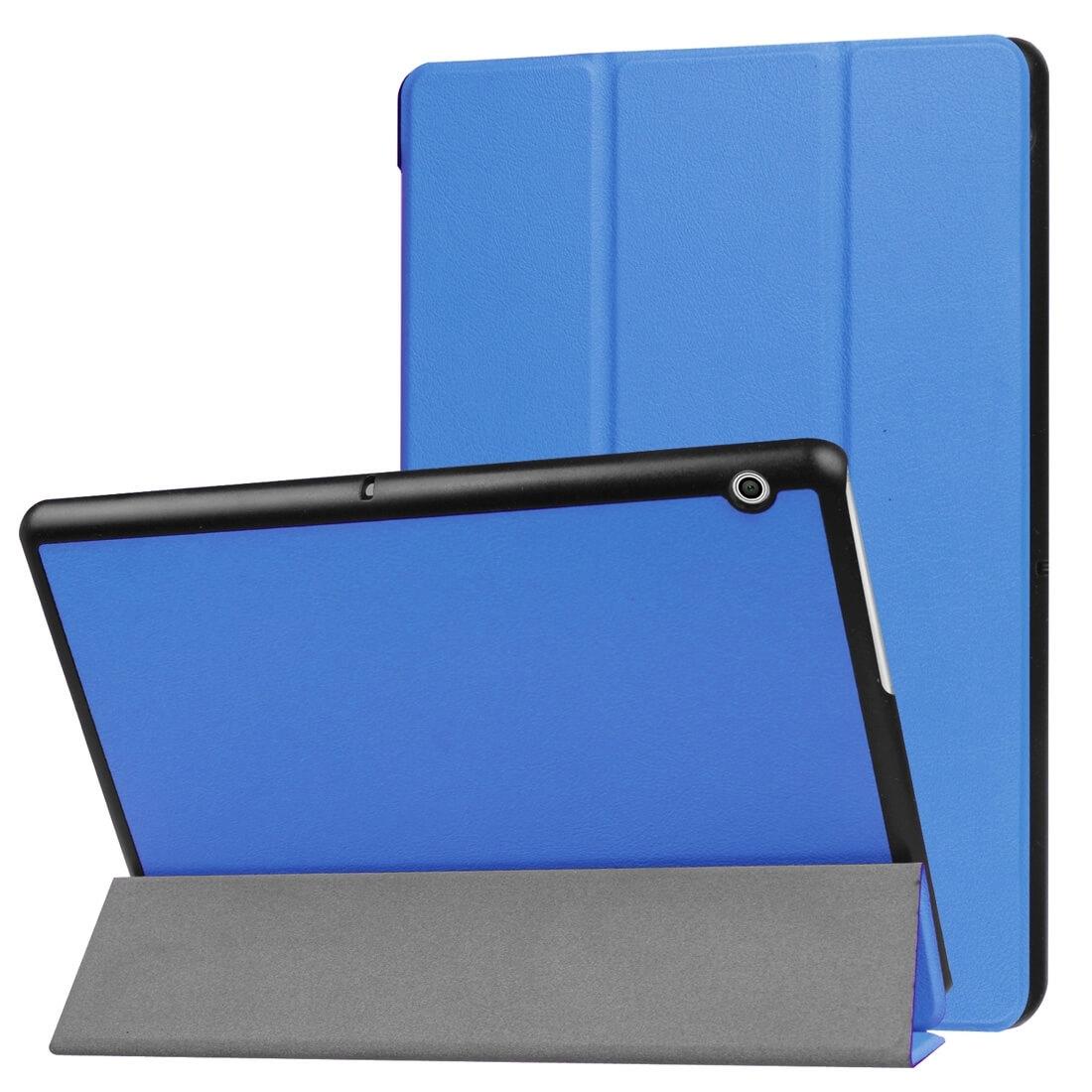 "FORCELL LEATHER zaklapovací obal Huawei MediaPad T3 10 ""modrý"