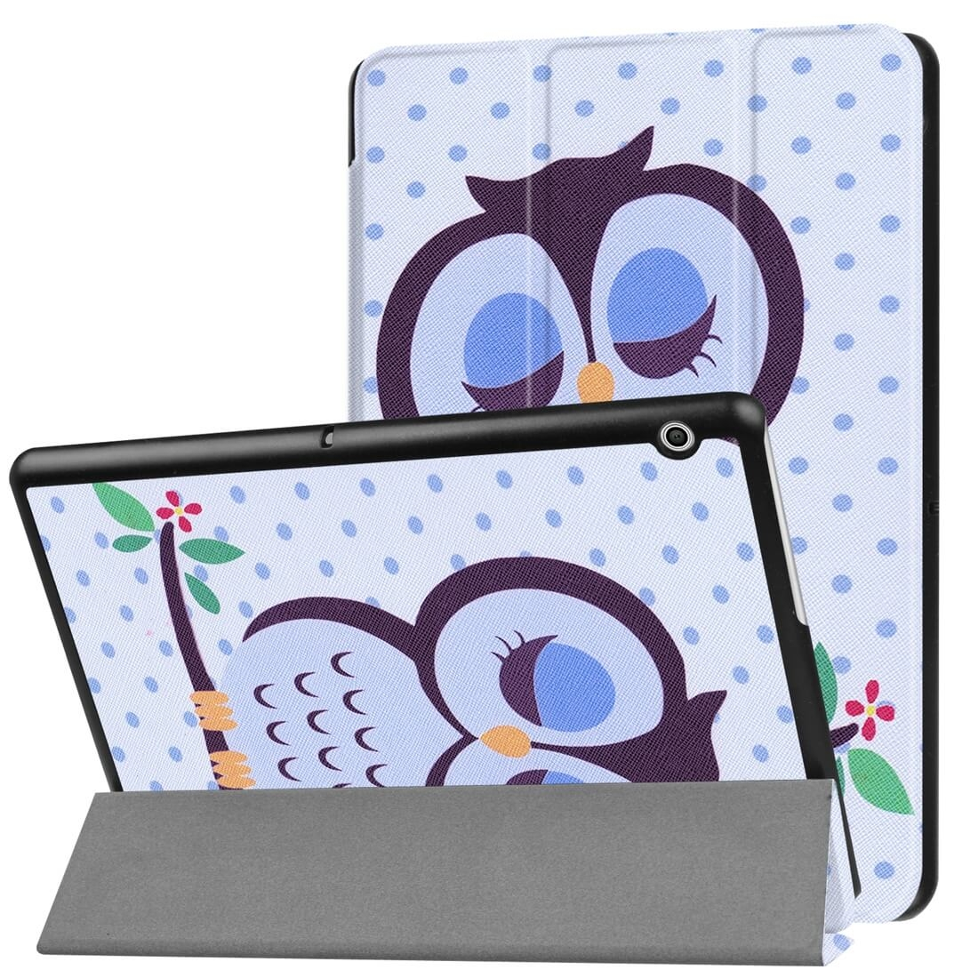 "FORCELL ART zaklapovací obal Huawei MediaPad T3 10 ""OWL"