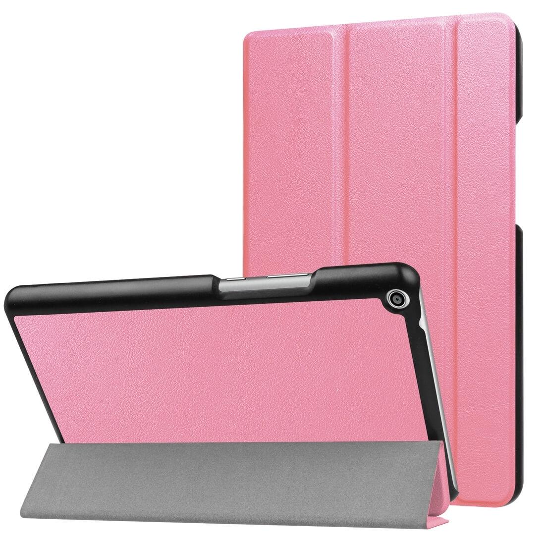"""FORCELL Zaklapovací obal Huawei MediaPad T3 8 """"růžový"""