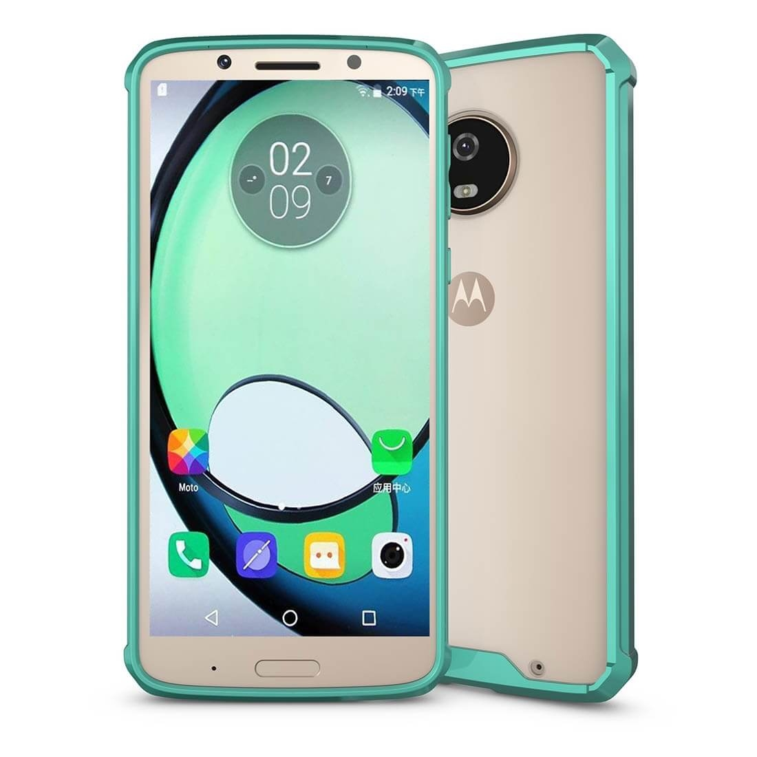 FORCELL SHOCK Odolný kryt Motorola Moto G6 Plus zelený