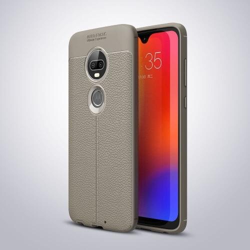 FORCELL PATTERN TPU kryt Motorola Moto G7 šedý