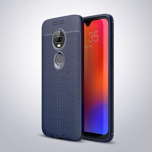 FORCELL PATTERN TPU kryt Motorola Moto G7 modrý