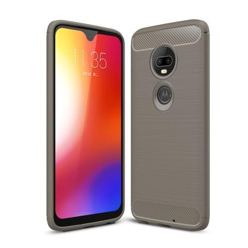 FORCELL FLEXI TPU Motorola Moto G7 šedý