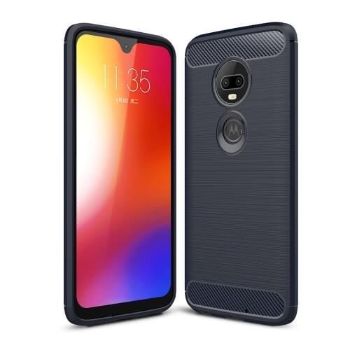 FORCELL FLEXI TPU Motorola Moto G7 modrý