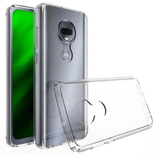 FORCELL Odolný obal Motorola Moto G7 průhledný