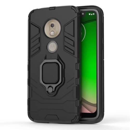 FORCELL STRONG Ochranný obal Motorola Moto G7 Play černý